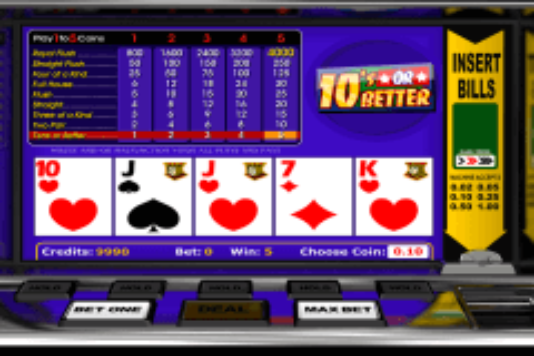 s or better betsoft video poker