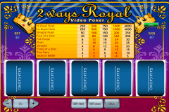 ways royal playtech video poker