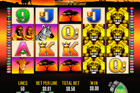 lions aristocrat pokie