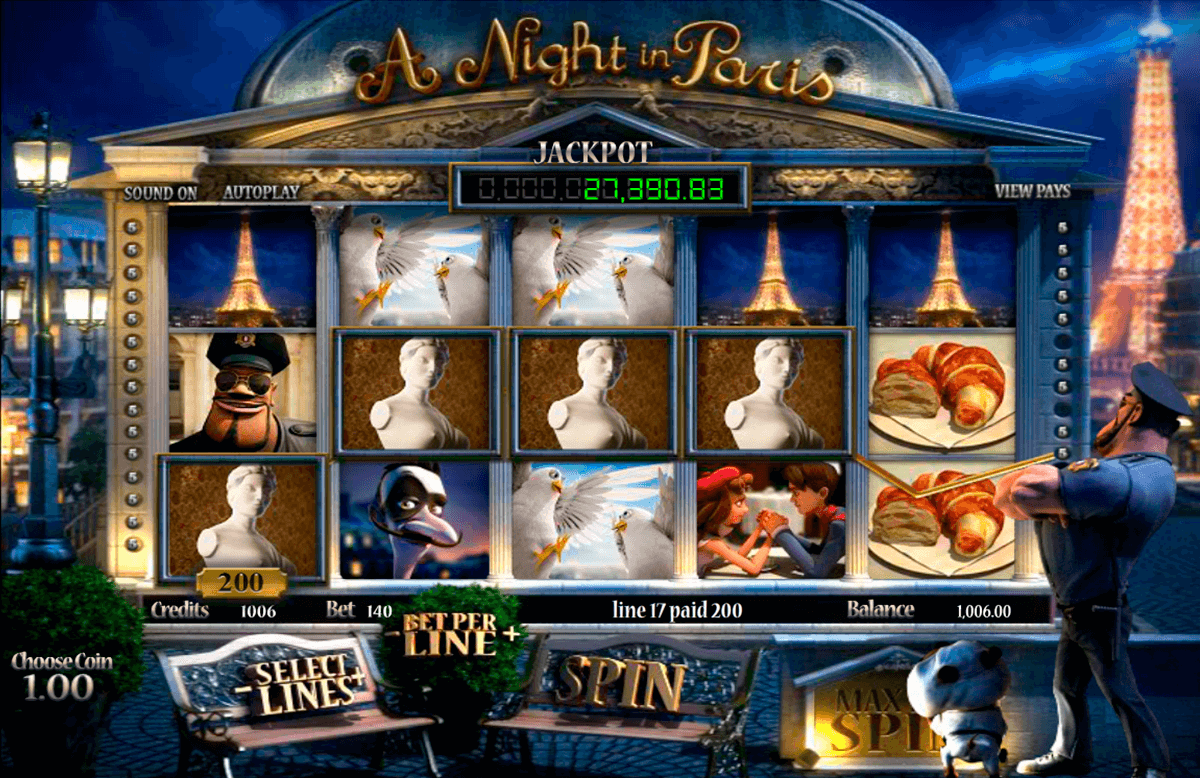 a night in paris betsoft pokie