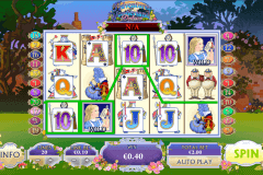 adventures in wonderland playtech pokie