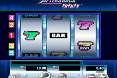 aftershock frenzy wms pokie