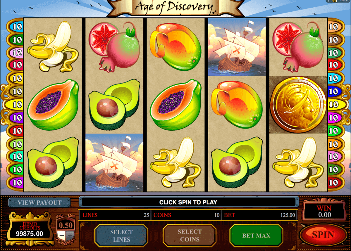 age of discovery microgaming pokie
