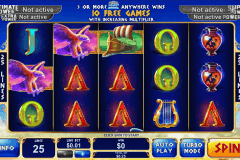 age of the gods king of olympus playtech pokie