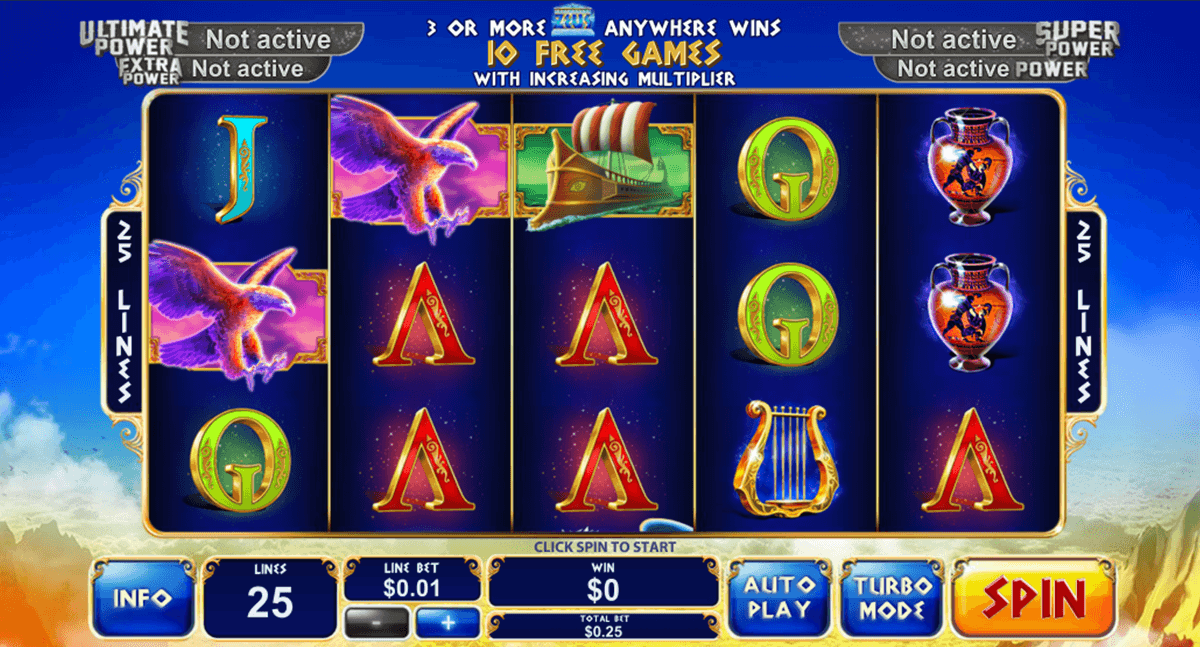 Play Age of Gods Pokies at Casino.com Australia