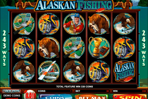 alaskan fishing microgaming pokie