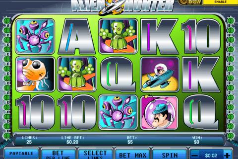 alien hunter playtech pokie
