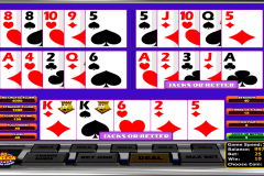 all american betsoft video poker