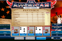 all american playtech video poker
