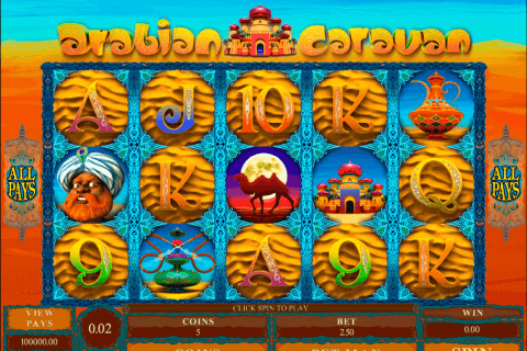 arabian caravan microgaming pokie