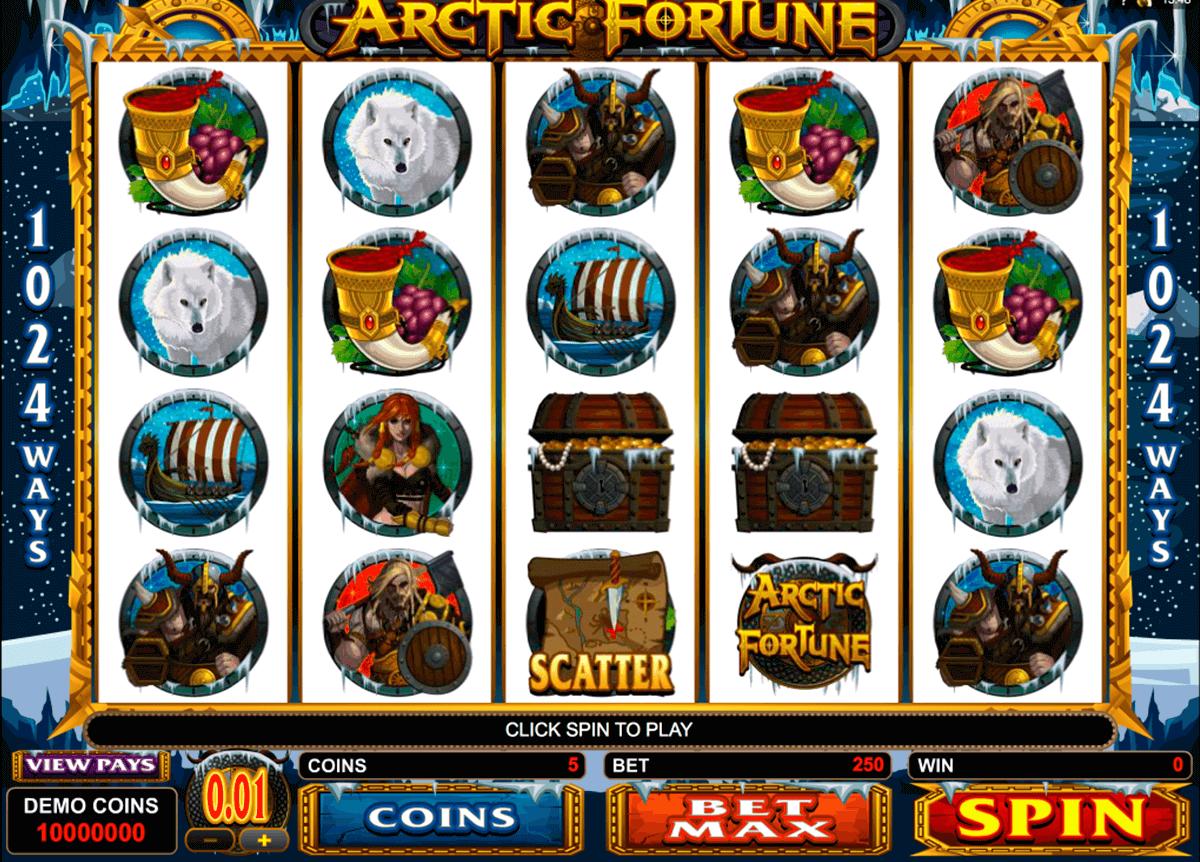 arctic fortune microgaming pokie