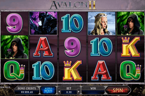 avalon ii microgaming pokie