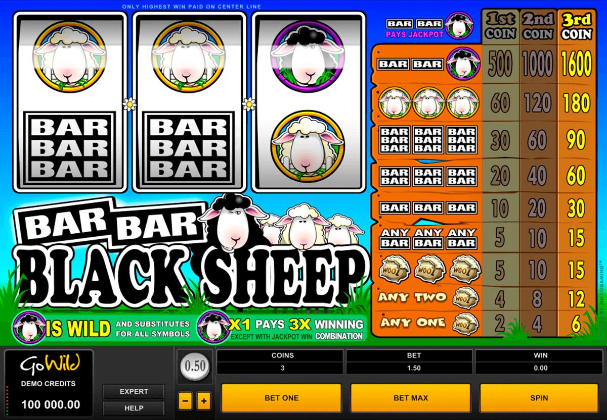 barbarblack sheep microgaming pokie