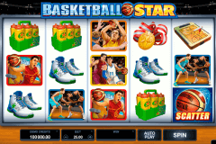 basketball star microgaming pokie