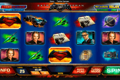 batman vs superman playtech pokie