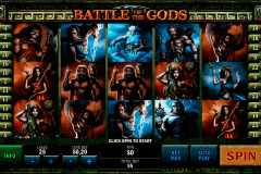 battle of the gods playtech pokie
