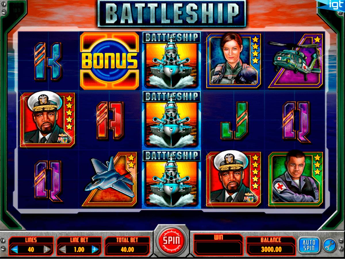 battleship igt pokie