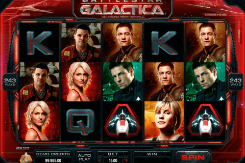 battlestar galactica microgaming pokie