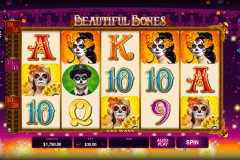 beautiful bones microgaming pokie