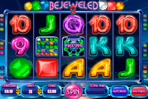 bejeweled  blueprint pokie