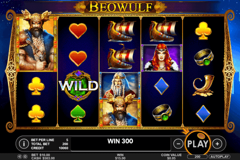 beowulf pragmatic pokie