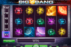 big bang netent pokie
