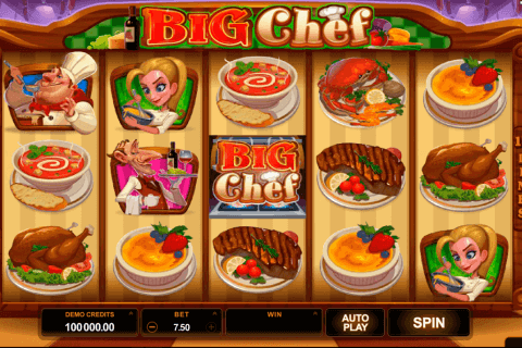 big chef microgaming pokie