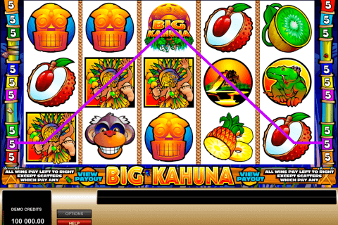 big kahuna microgaming pokie