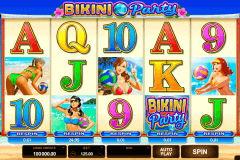 bikini party microgaming pokie