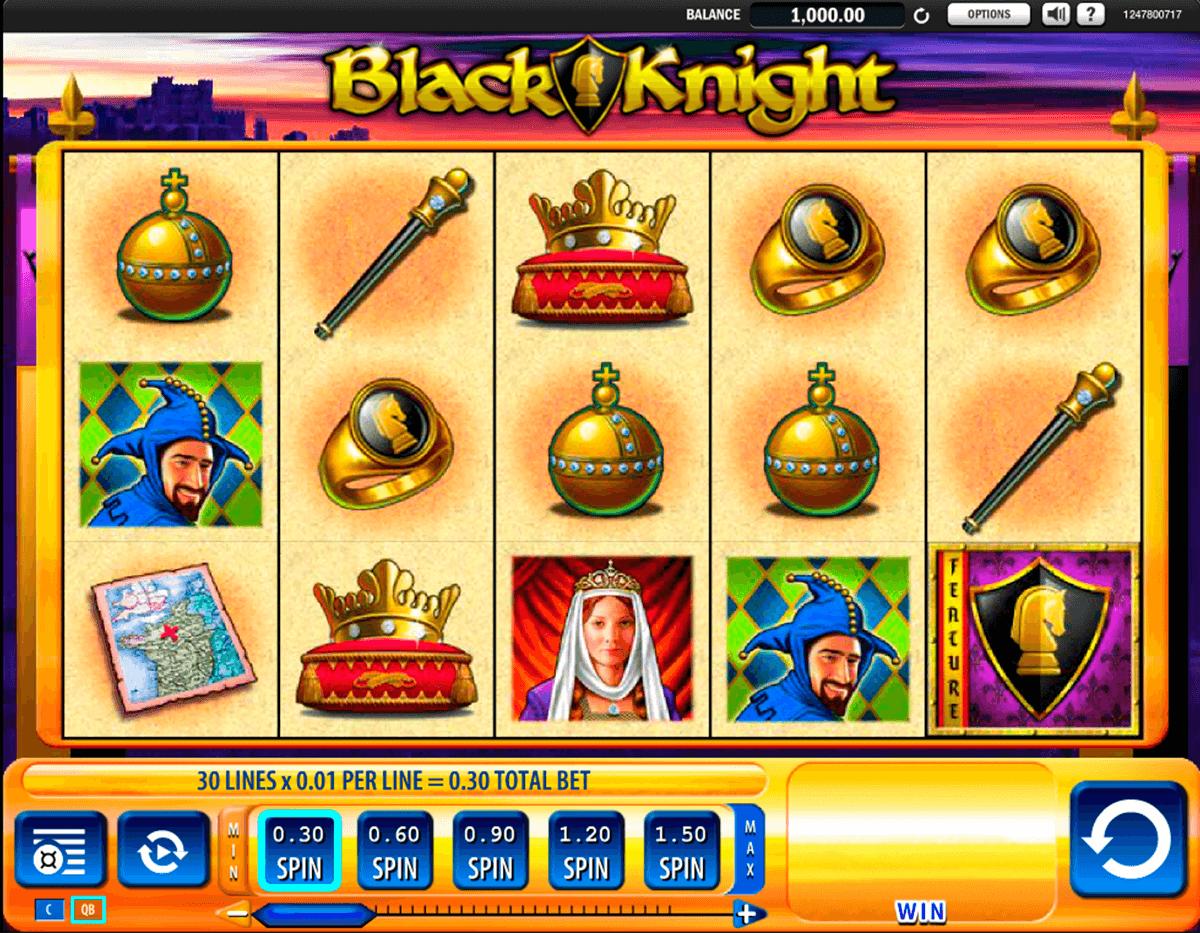 black knight wms pokie