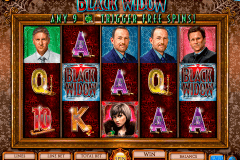 black widow igt pokie