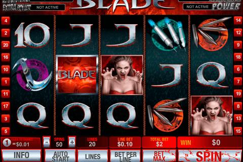 blade playtech pokie