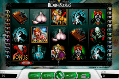 blood suckers netent pokie