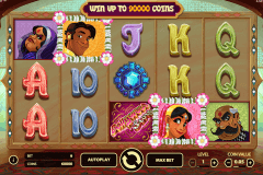 bollywood story netent pokie