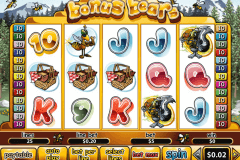 bonus bears playtech pokie