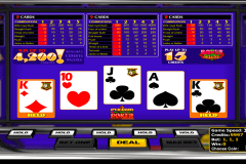 bonus delue betsoft video poker