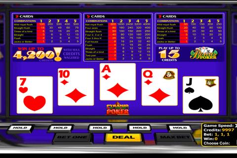 bonus poker betsoft video poker