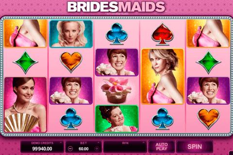 bridesmaids microgaming pokie