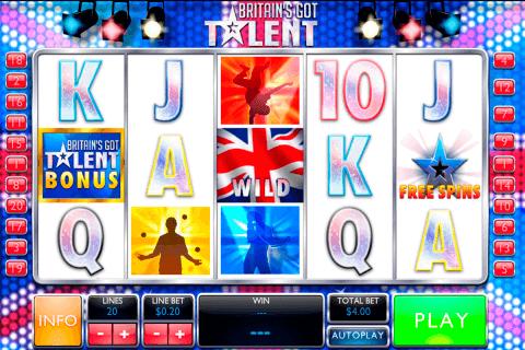 britains got talent playtech pokie