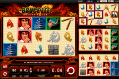 bruce lee dragons tale wms pokie
