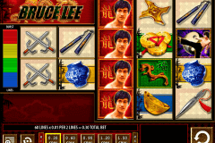 bruce lee wms pokie