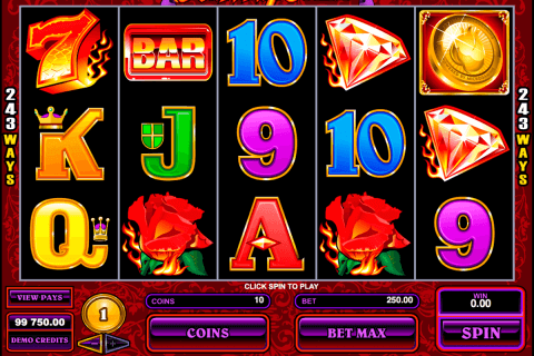 burning desire microgaming pokie