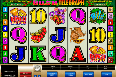 bush telegraph microgaming pokie