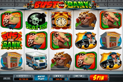 bust the bank microgaming pokie