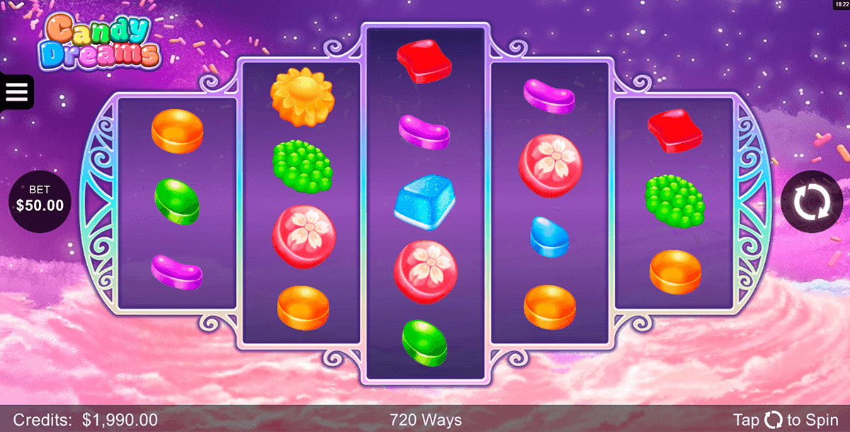 candy dreams microgaming pokie