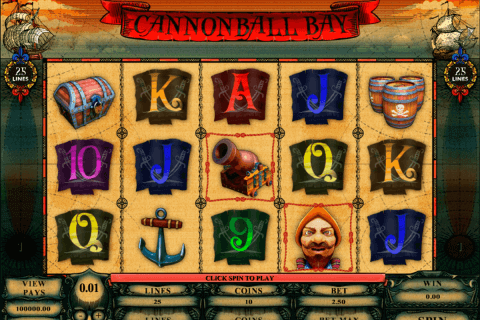 cannonball bay microgaming pokie