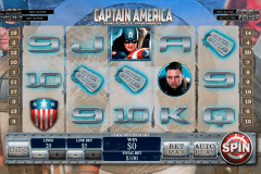 captain america playtech pokie