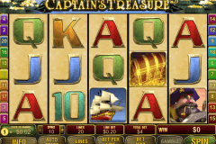 captains treasure pro playtech pokie