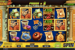 cash bandits  rtg pokie