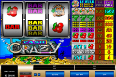 cash crazy microgaming pokie